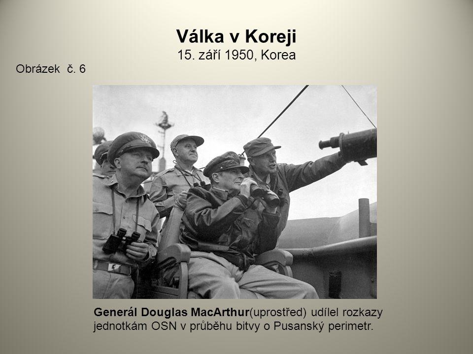 Válka v Koreji 15. září 1950, Korea