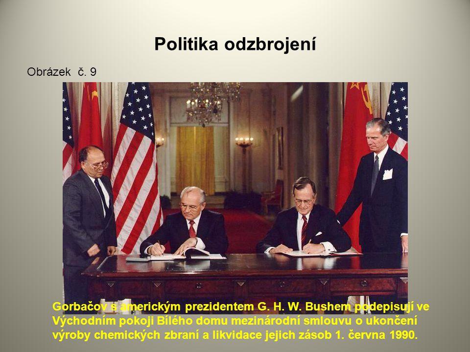 Politika odzbrojení Obrázek č. 9