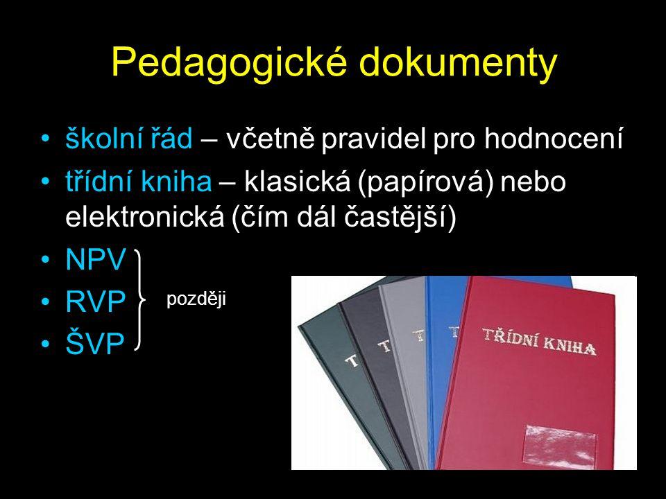 Pedagogické dokumenty