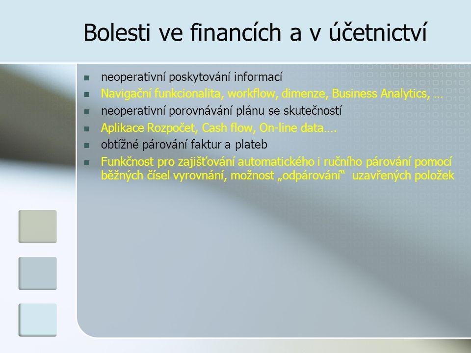 Bolesti ve financích a v účetnictví