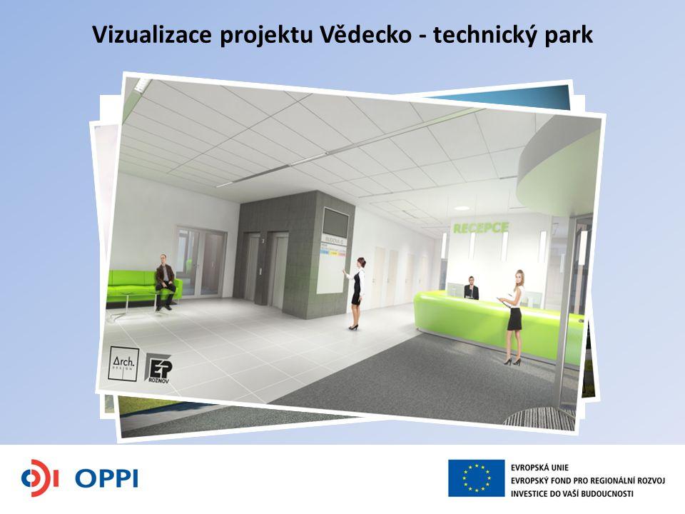 Vizualizace projektu Vědecko - technický park