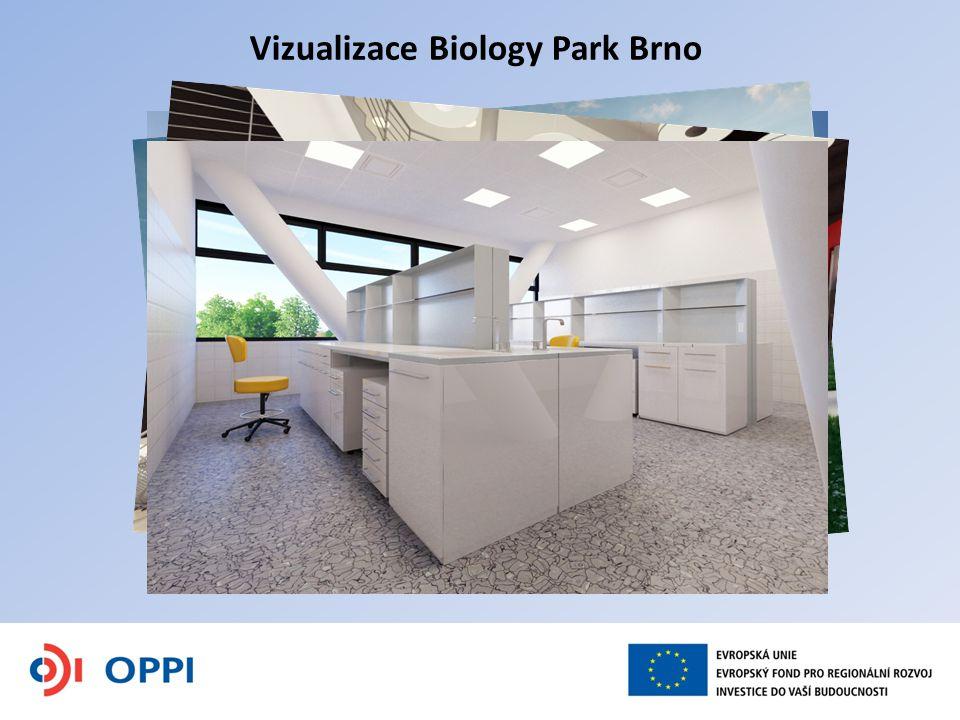 Vizualizace Biology Park Brno