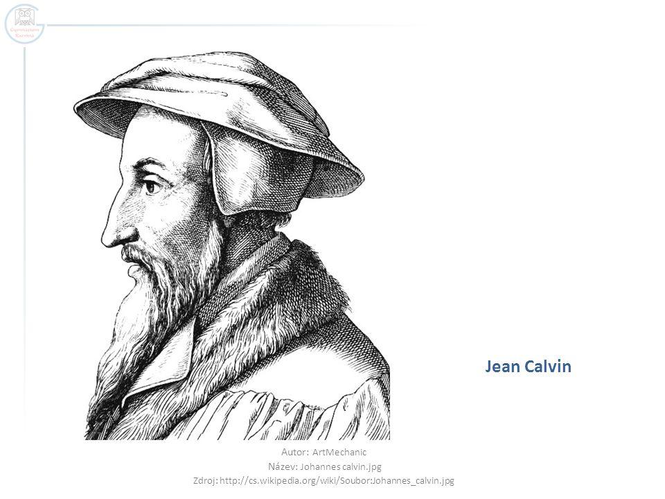 Jean Calvin Autor: ArtMechanic Název: Johannes calvin.jpg