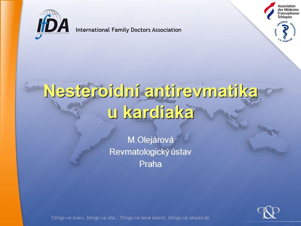 Nesteroidní antirevmatika u kardiaka