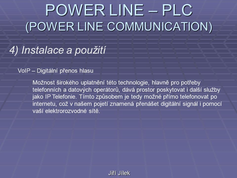POWER LINE – PLC (POWER LINE COMMUNICATION)