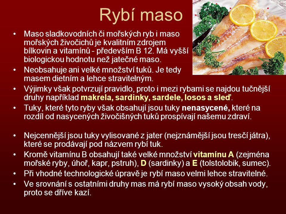 Rybí maso