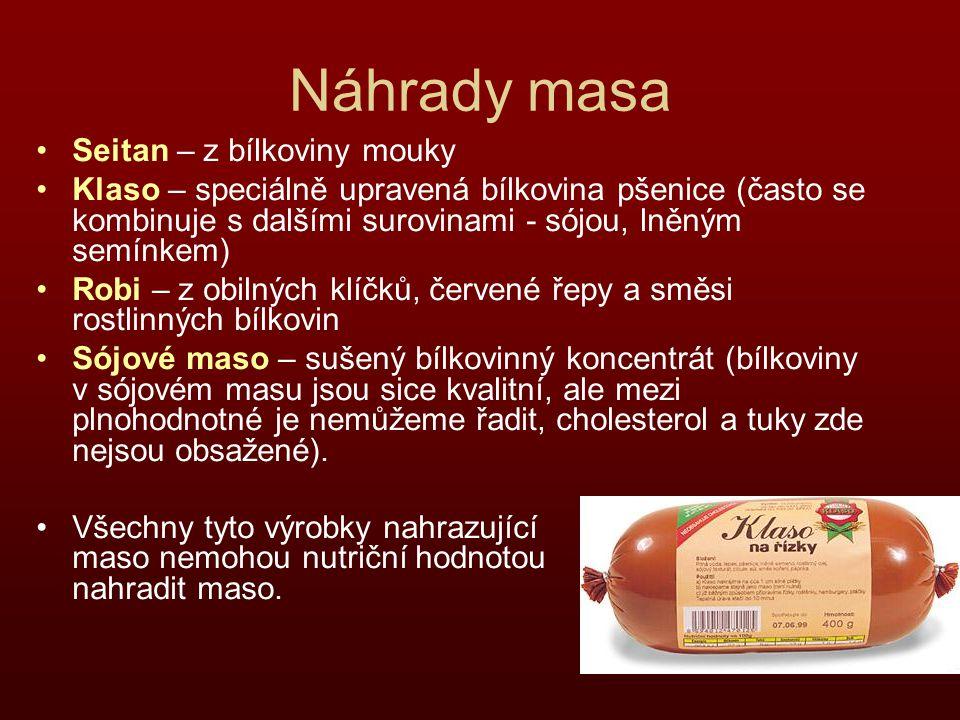 Náhrady masa Seitan – z bílkoviny mouky