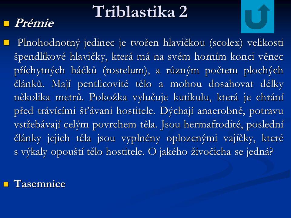 Triblastika 2 Prémie.
