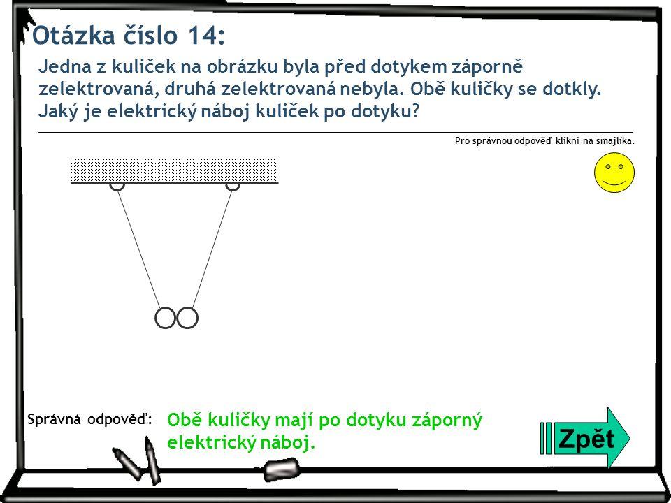 Otázka číslo 14: