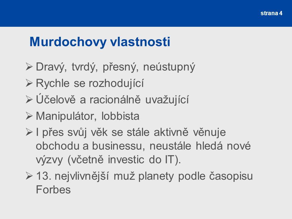 Murdochovy vlastnosti