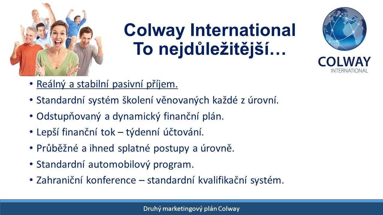 Colway International To nejdůležitější…