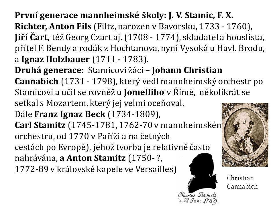 Dále Franz Ignaz Beck (1734-1809),