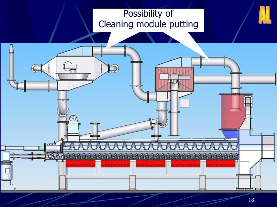 Possibility of Cleaning module putting