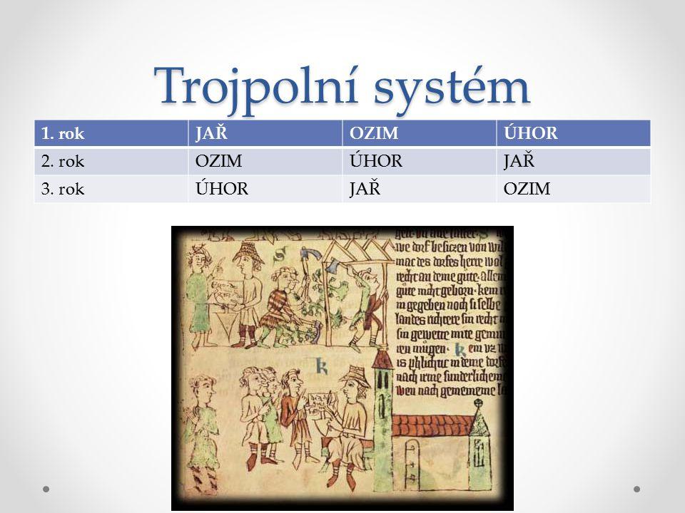 Trojpolní systém 1. rok JAŘ OZIM ÚHOR 2. rok 3. rok