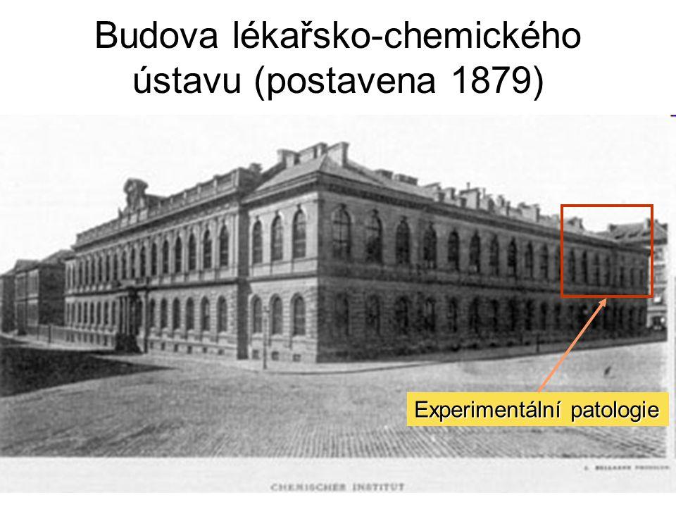 Budova lékařsko-chemického ústavu (postavena 1879)