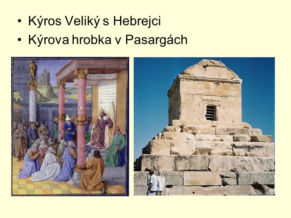 Kýros Veliký s Hebrejci