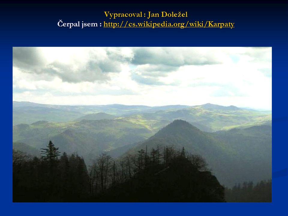 Vypracoval : Jan Doležel Čerpal jsem : http://cs. wikipedia