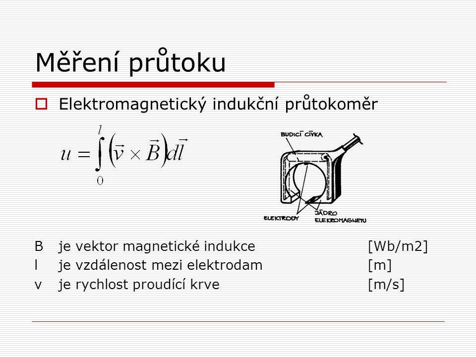 Měření průtoku Elektromagnetický indukční průtokoměr
