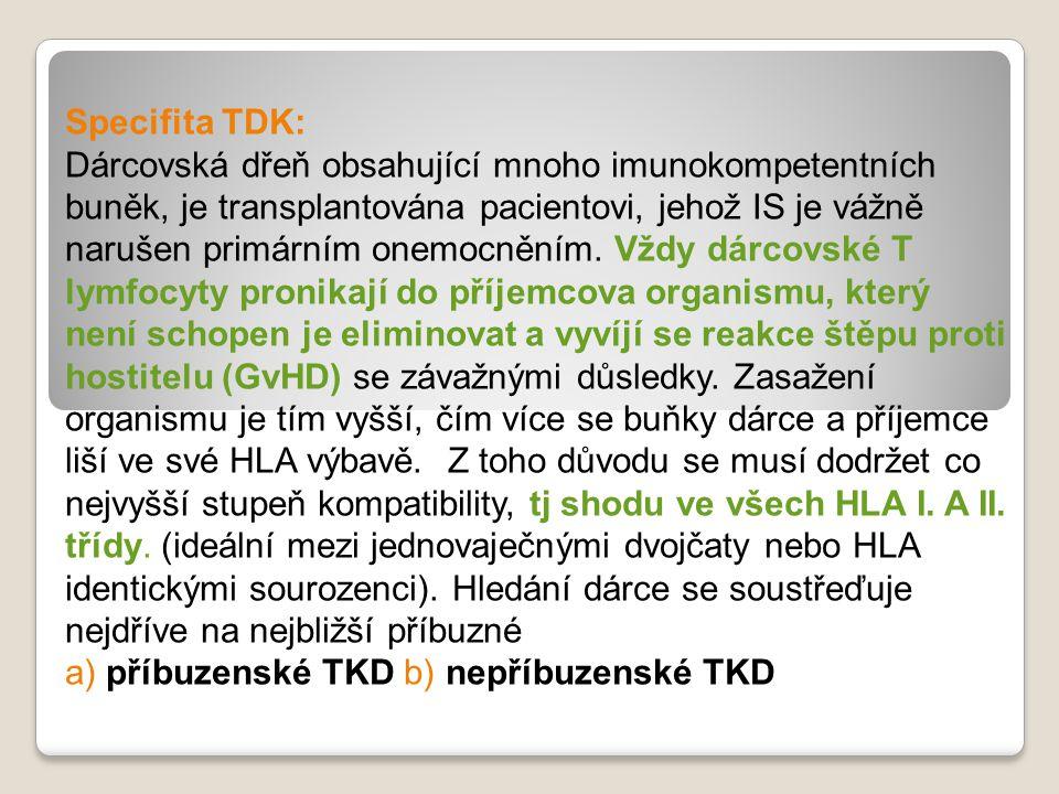 Specifita TDK: