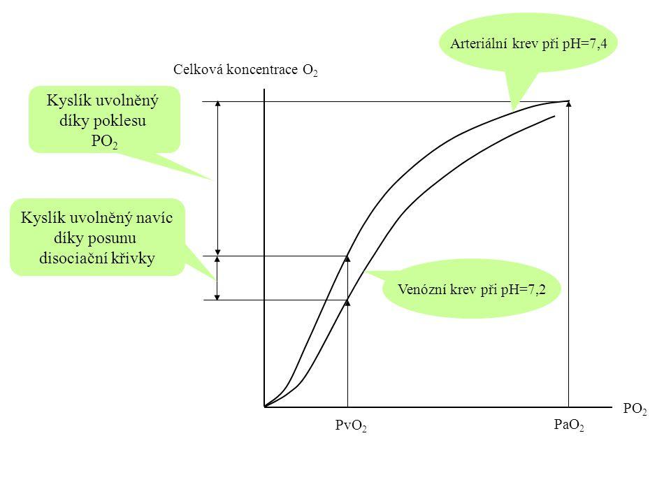 Arteriální krev při pH=7,4