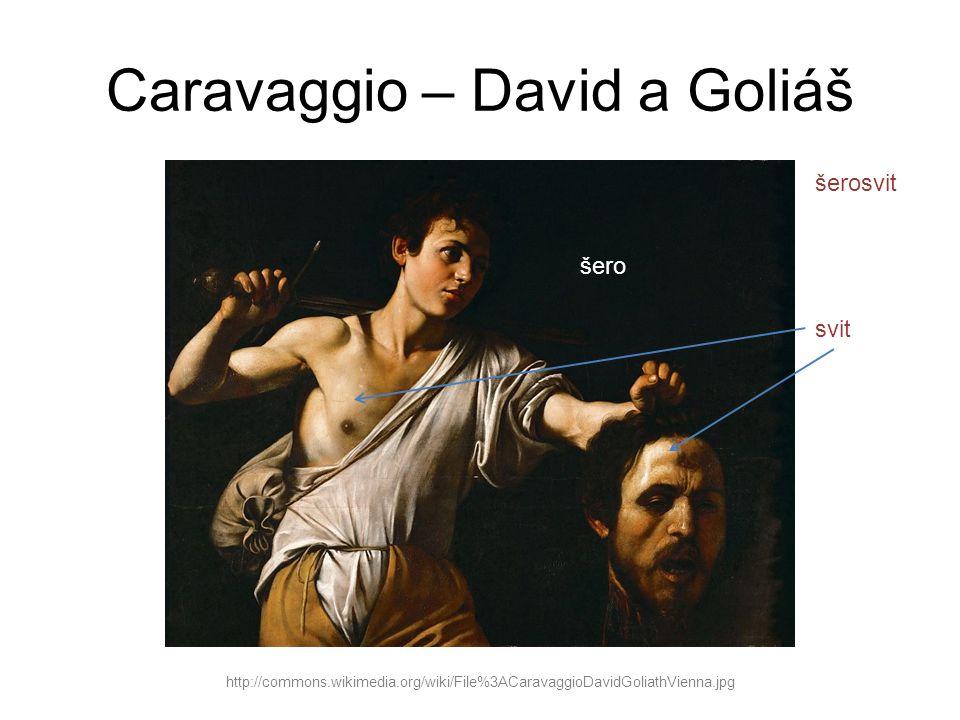 Caravaggio – David a Goliáš