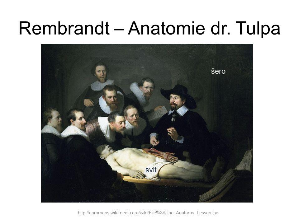 Rembrandt – Anatomie dr. Tulpa