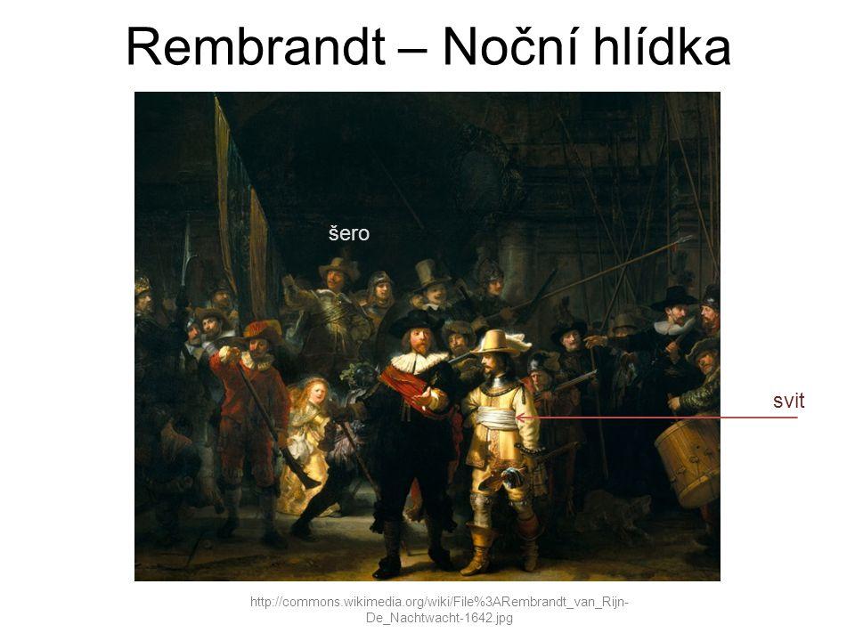 Rembrandt – Noční hlídka