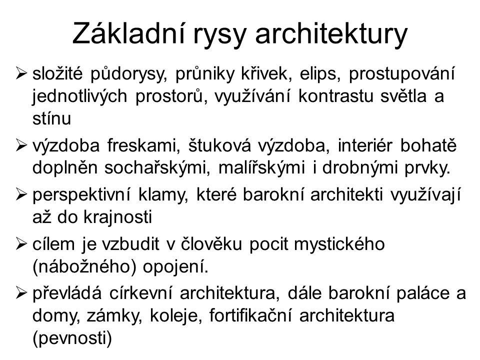 Základní rysy architektury
