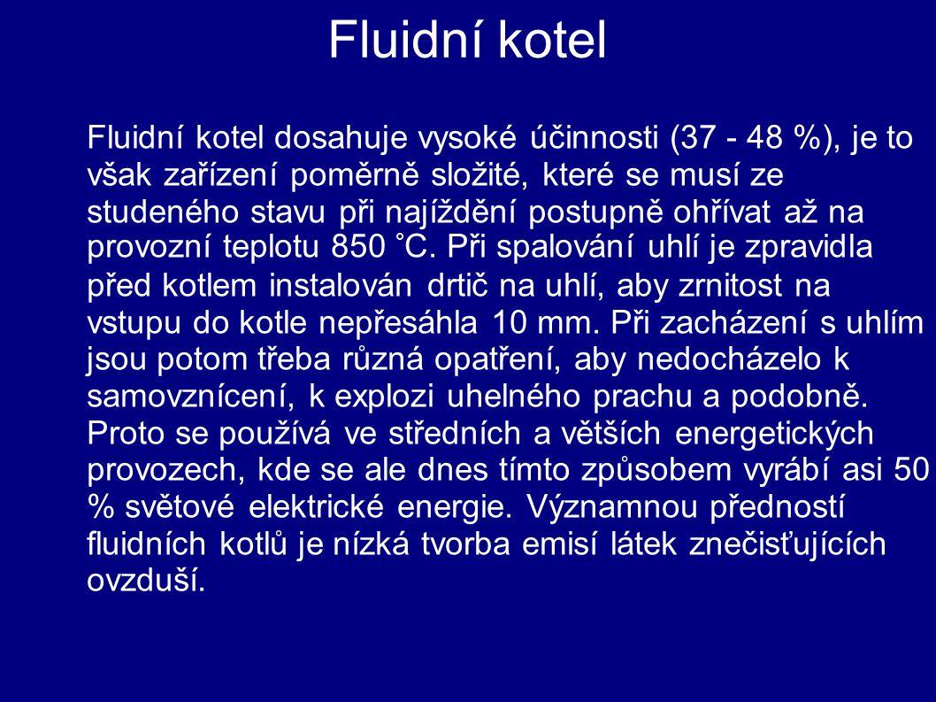 Fluidní kotel