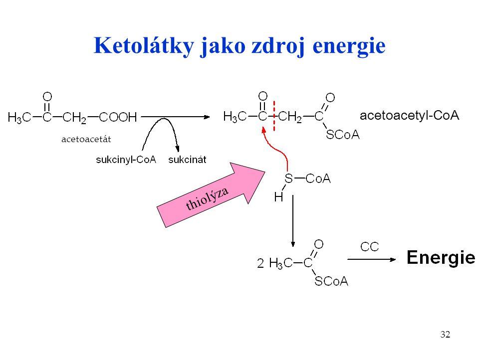 Ketolátky jako zdroj energie