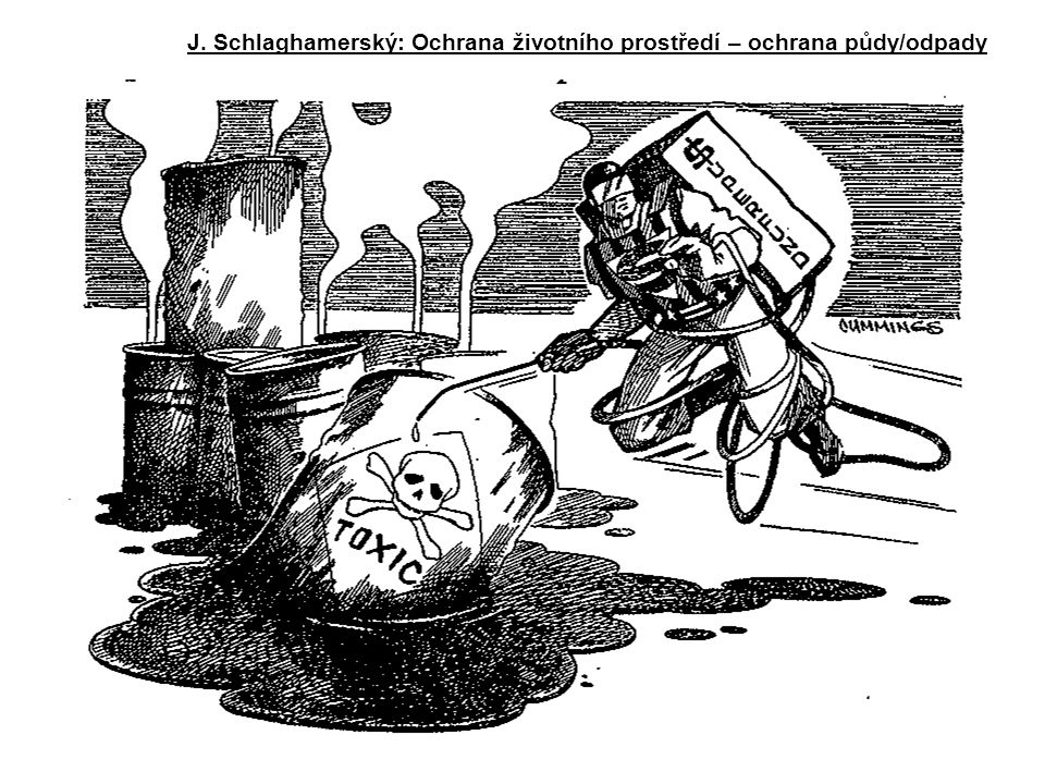 J. Schlaghamerský: Ochrana životního prostředí – ochrana půdy/odpady