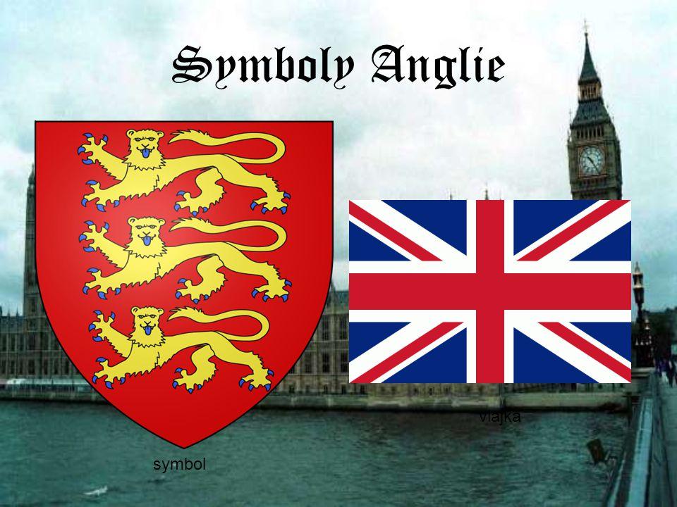Symboly Anglie symbol vlajka symbol