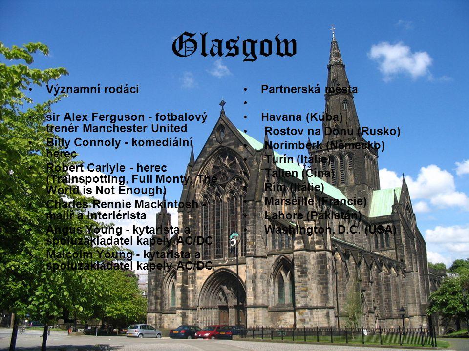 Glasgow Významní rodáci