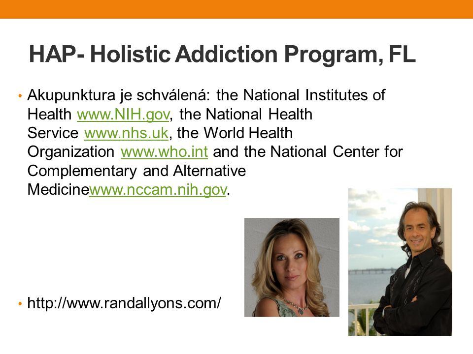 HAP- Holistic Addiction Program, FL