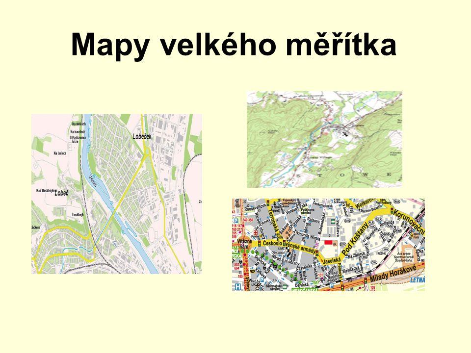 Mapy velkého měřítka