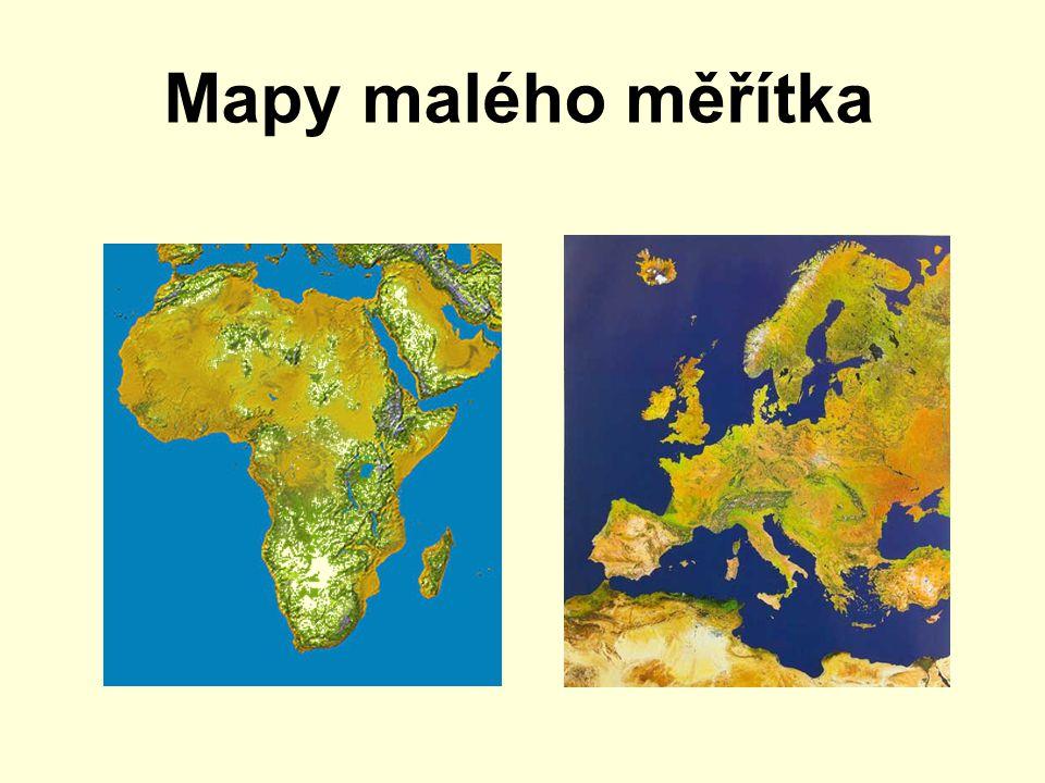 Mapy malého měřítka