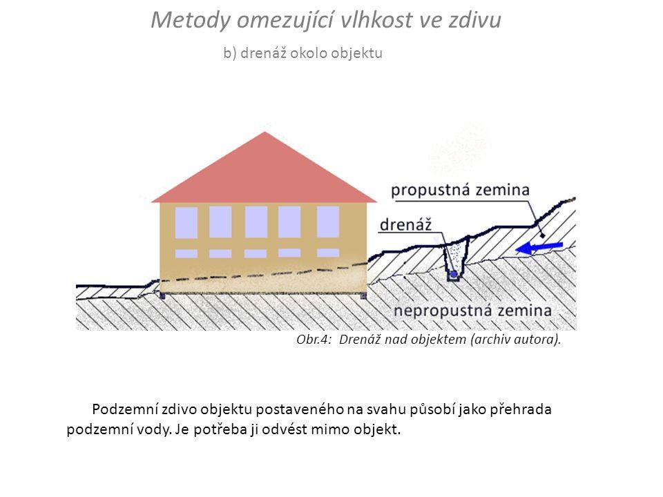 Metody omezující vlhkost ve zdivu