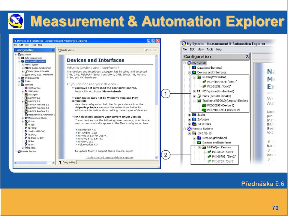 Measurement & Automation Explorer