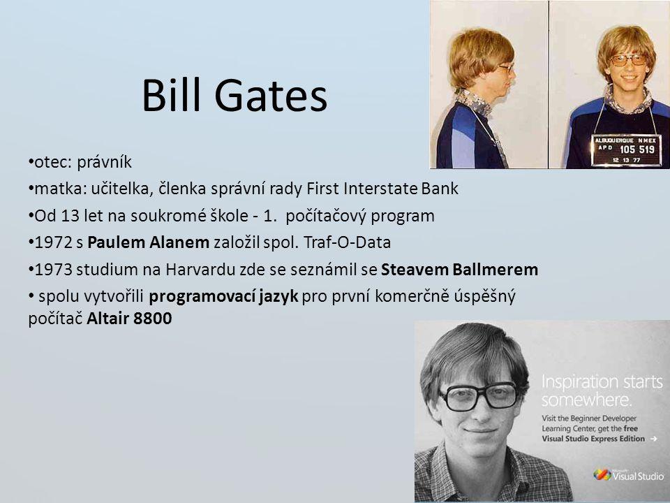 Bill Gates otec: právník