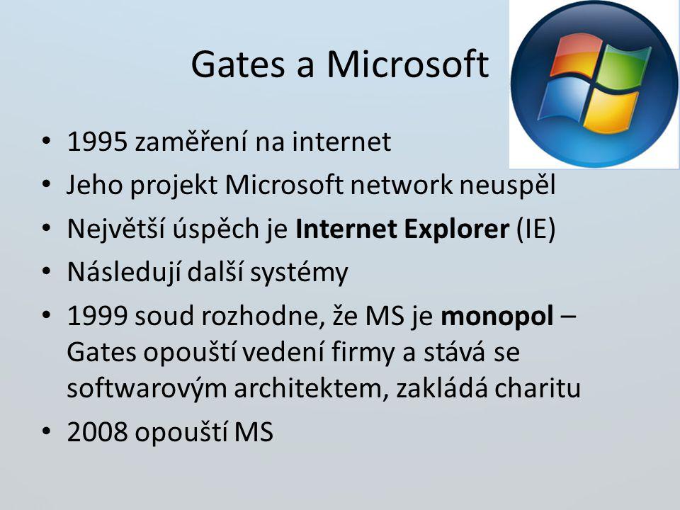 Gates a Microsoft 1995 zaměření na internet
