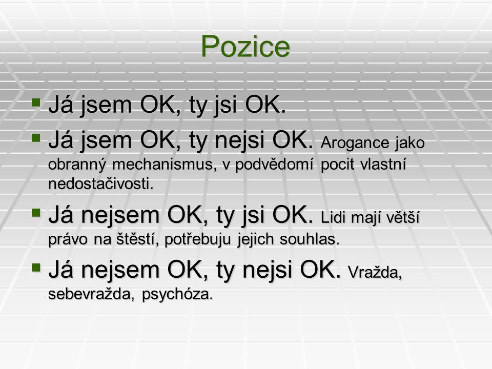 Pozice Já jsem OK, ty jsi OK.