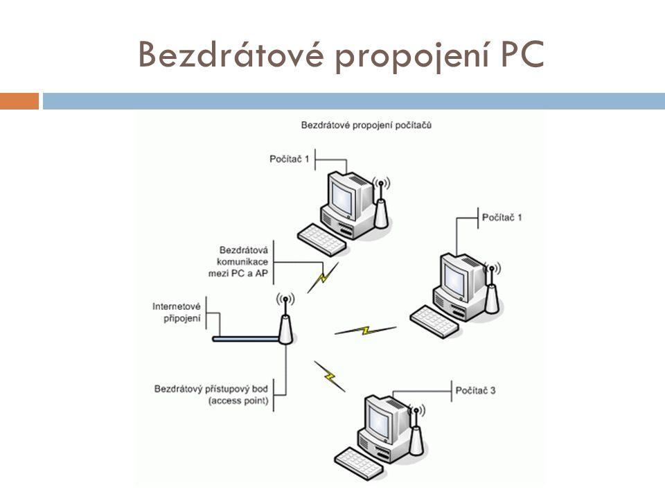 Bezdrátové propojení PC