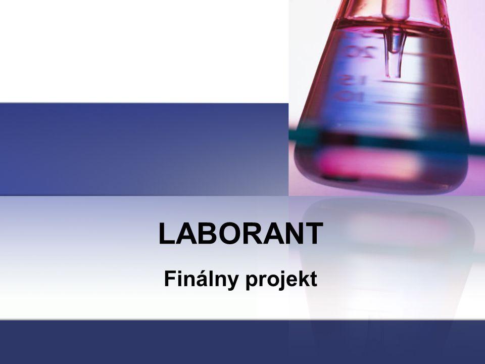 LABORANT Finálny projekt