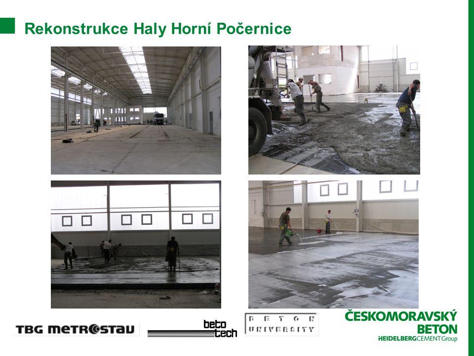 Rekonstrukce Haly Horní Počernice