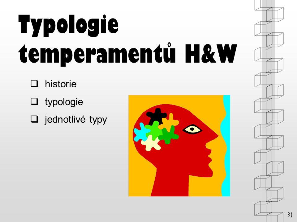 Typologie temperamentů H&W