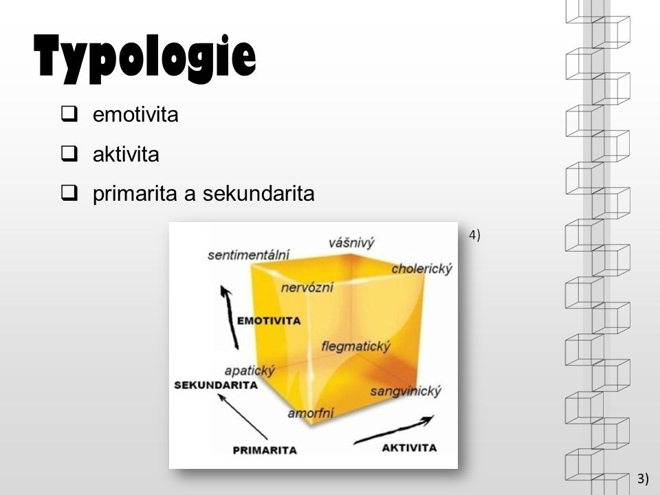 Typologie emotivita aktivita primarita a sekundarita 4)