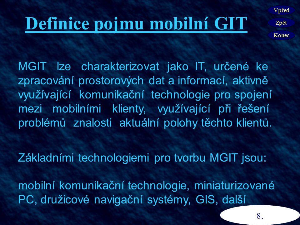 Definice pojmu mobilní GIT