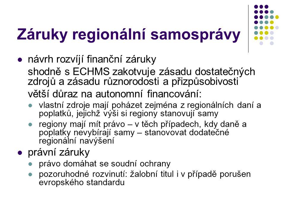 Záruky regionální samosprávy