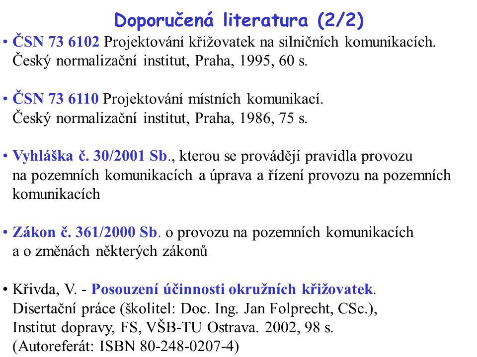 Doporučená literatura (2/2)