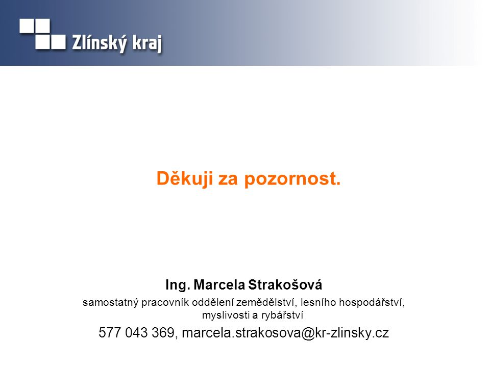Ing. Marcela Strakošová